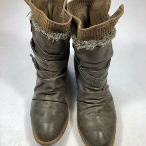 American Rag Grey Ankle Boots Women's size 8